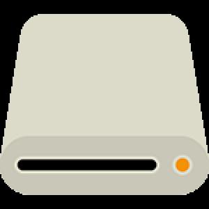 Laufwerk-Symbol