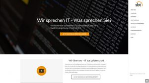 Sbt-Startseite-Screenshot