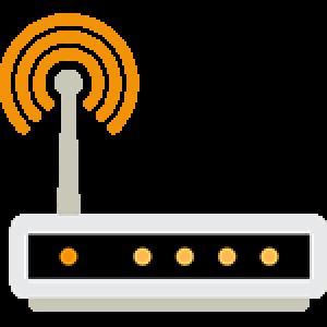 WLAN Router-Symbol