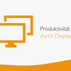 Kann man die Produktivität der Mitarbeiter durch mehrere Displays erhöhen?